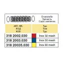 Wkład filtra ssącego 79x109, 32-mesh ARAG