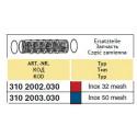 Suction filter insert 70x100, 32-mesh ARAG