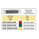 Suction filter insert 145x320, 32-mesh ARAG