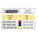 Wkład filtra ssącego 145x320, 80-mesh ARAG