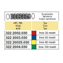 Wkład filtra sekcyjnego/odstojnika 39x88, 100-mesh ARAG