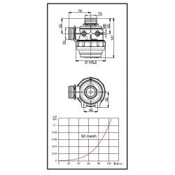 Filtr ssący 60 l/min T5, ARAG