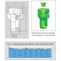 Fan liquid fertilizer nozzle FD LECHLER