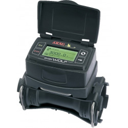 Paddle flow-meter with DIGIWOLF digital display cell-power models, DIGIWOLF, ARAG