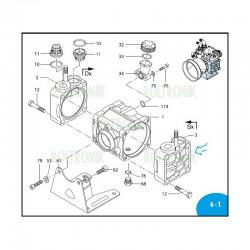 Diaphragm holder  AR70BP 650661 Annovi Reverberi
