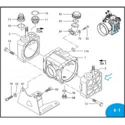 Pump body  AR70BP 550011...