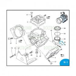 Diaphragm  AR115BP/AR135BP Saturflon 550191 Annovi Reverberi