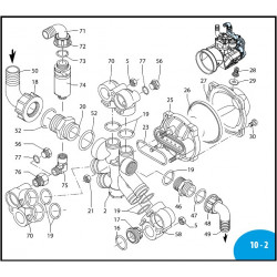 Semi air chamber  AR115BP/AR135BP Nera 550233 Annovi Reverberi