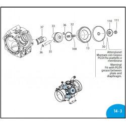 Wobble plate  AR125BP/AR145BP 580090 Annovi Reverberi