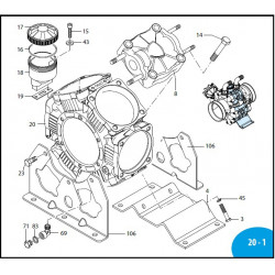 Nut M10 INOX AR 250 bp 2240110 Annovi Reverberi