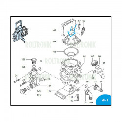 Spacer  AR203/AR252 800160...