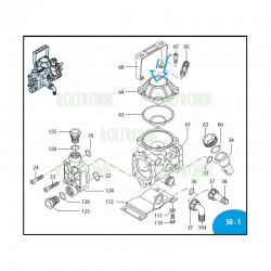 Diaphragm fi 72 Viton AR203/AR252 800081 Annovi Reverberi