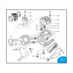 Hub pin  Viton AR303/403  800091 Annovi Reverberi