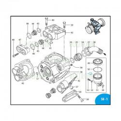 Manifold plate  AR503 1300020 Annovi Reverberi