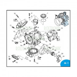 Air chamber  NBR AR903/AR1053/AR1203 1527 Annovi Reverberi
