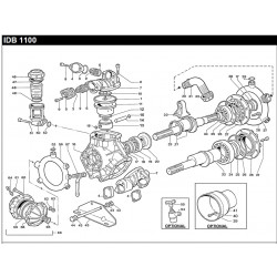 BEARING COVER PUMP IDB 1100...