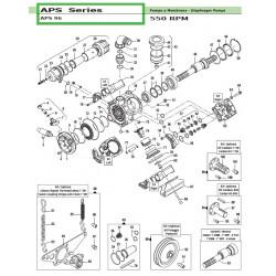 "Cylindric Cardan Kit 1"" APS 96 50030041 Comet"