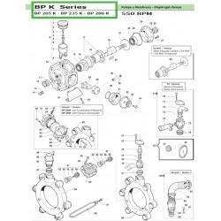 Membrana gumowa BP 60-235,...