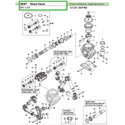 Pump Crankcase  BP 110...
