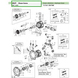 Pump manifold  BP 300...