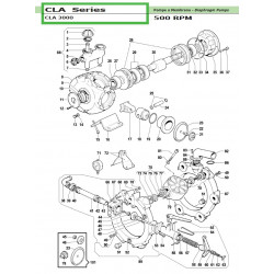 Delivery Manifold  CLA 3000 04150012 Comet