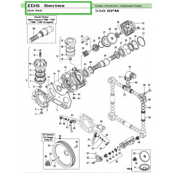 Pump Crankcase  IDS 960...