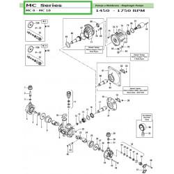 Diaphragm Viton® MC 8 - MC 18 18000083 Comet