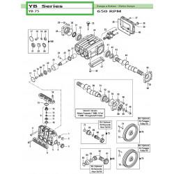 Pulley Kit 2A - Øp247 mm YB...
