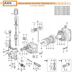 Axial Bearing 45x65x14...