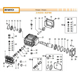 """Plug 3/8"""" BWD 32000007 Comet"""