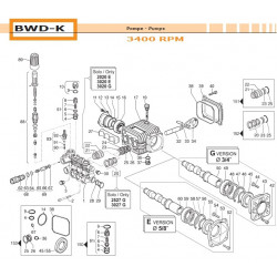 Water Seal Kit Ø14 BWD-K...