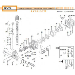 "Injector Body Kit Ø5,5 3/8"" NPT  34100328 Comet"