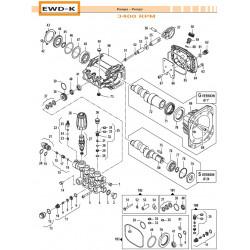 Key 8x7x25 EWD-K 16020045...