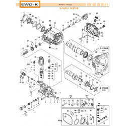 Crankcase Cover  EWD-K 04020530 Comet