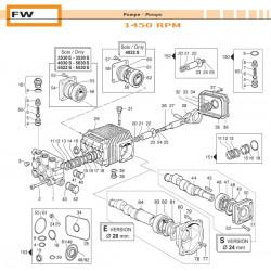 Valve Kit  FW 50250025 Comet