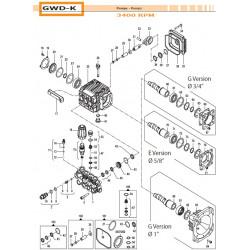 Brass Pump Manifold Ø13 GWD-K 32180488 Comet