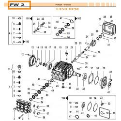 Oil Seal Kit  FW2 50190219...