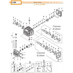 Pump Crankcase  LW 04030128...