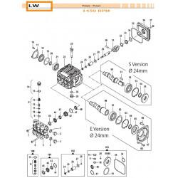 Piston kit Ø15 LW 24090071...