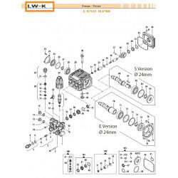 Crankcase Flange  LW-K 10040012 Comet