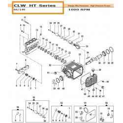 Bearing Ø40x80x23 CLW HT 04480010 Comet