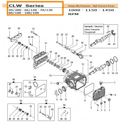 "Washer G3/8"" CLW 12090099..."