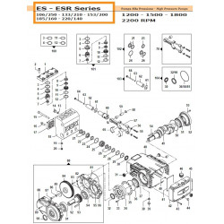 Gear Box Kit   50050262 Comet