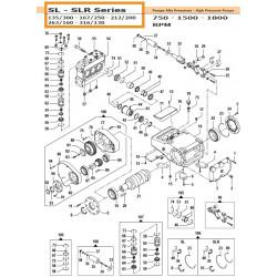 Gear Box Kit   50050250 Comet