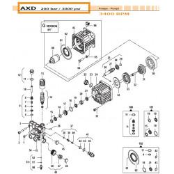 Injector Body Kit Ø1,8 -...