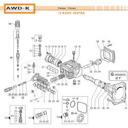 Crankcase Flange  AWD-K 10040012 Comet