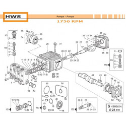 Con. Rod Assembly  HWS 02050044 Comet