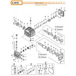 Piston kit Ø15 LWR 24090071...