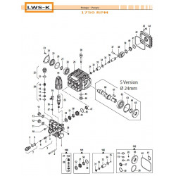 Check Valve Kit  LWS-K...