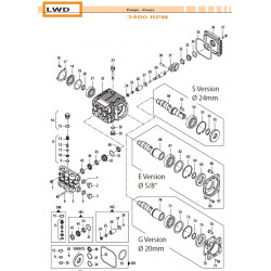 Valve Kit  LWD 50250011 Comet